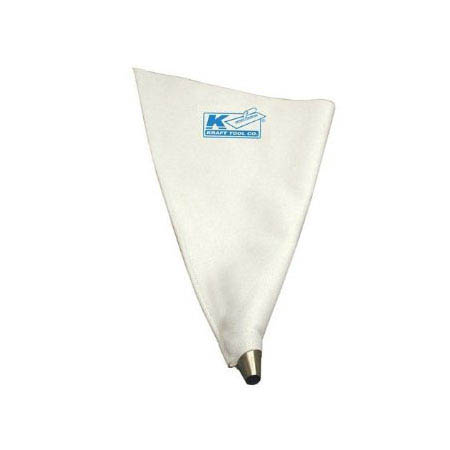 "Kraft Tool 10-1/2""x24"" Heavy Duty Vinyl Large Grout Bag"