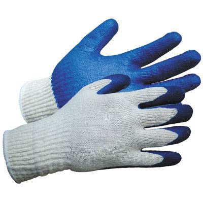 Wonder Gloves® Rubber Palm Coated Knit Work Glove, Cotton/Poly