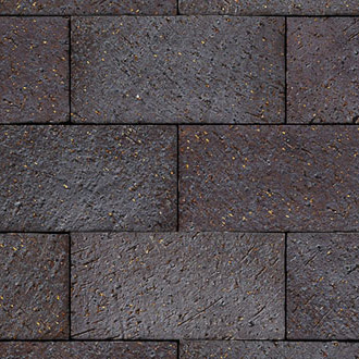 Endicott Dark Ironspot Modular Brick, Velour