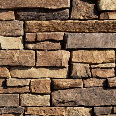 Eldorado Stone Mountain Ledge Panel Russet, Corner
