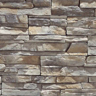 Eldorado Stone Stacked Stone Nantucket, Flat